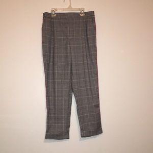 Plaid Pants, Striped sides, Cisono